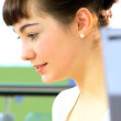 Royalty-Free Stock : Detail of student head study in university classroom
