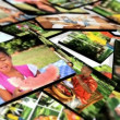 Stock Video: 3D Montage images young multi ethnic family groups