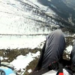 Royalty-Free Stock Vektorfiler: Paragliding in the high Alps