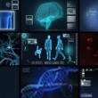 Montage 3D Medical Scientific Research — Stock Video #18299981