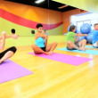 Physical Exercise Modern Health Studio — Stock Video
