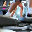 Gym Members Keeping Fit — Stock Video #18545001