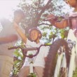 Healthy Ethnic Family Bike Riding Together — 图库视频影像