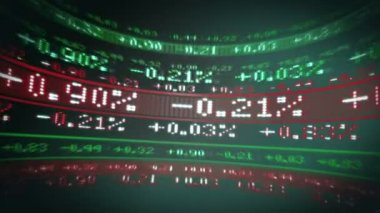 Stocks and Shares in todays markets — Stock Video