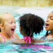 Royalty-Free Stock : Cute Little Friends Healthy Swimming Lifestyle
