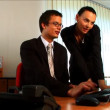 Young business in modern working environment - ストック写真