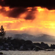Scenes of winter & snow from the shores of Lake Tahoe — Stock Video #19421213