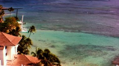 At leisure on Waikiki Beach — Stock Video