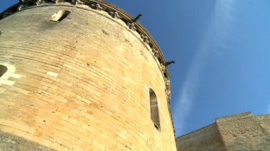 Tower from the Chateau d'Amboise in the Loire Valley — Stock Video