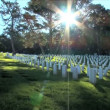 American memorial Cemetery in San Francisco - Stock Photo
