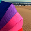 Colourful beach holiday destinations. — Stock Video
