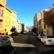 Stock Video: Point-of-view driving streets of SFrancisco