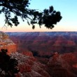 Timelapse sunrise over Grand Canyon — Stock Video