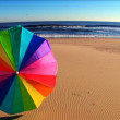 Colourful beach holiday destinations. - Stock Photo