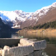Crystal clear waters of glacial fjords — Stock Video #19853423
