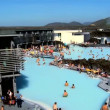 Stok video: Geothermal hot springs providing therapy spwaters & distant energy plant