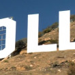 Hollywood Sign Close-up — Stock Video