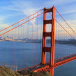 Time-lapse Traffic on Golden Gate Bridge — Stock Video #21178609