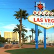 Welcome Sign on Las Vegas Strip — Stock Video