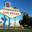 Welcome Sign on Las Vegas Strip — Stock Video #21199777