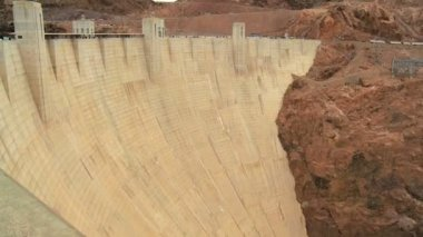 Hoover Dam Hydro-electric Power Station — Stock Video