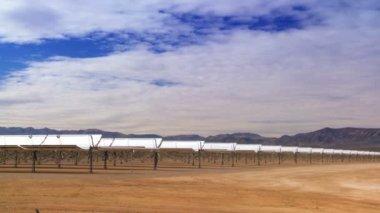 Clean Solar Energy Plant — Stock Video