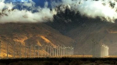 Desert Wind Farms — Wideo stockowe