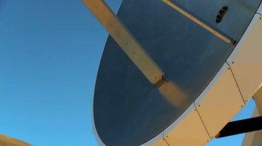 Very Large Array Dish Close-up — Stock Video