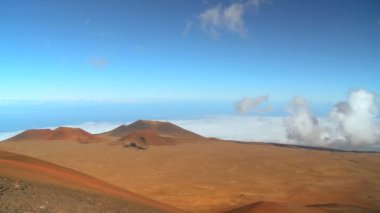 Volcanic Landscape Time-lapse — Stock Video