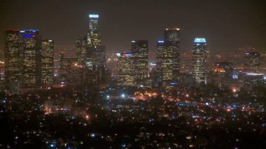 Los Angeles Cityscape Time-lapse — Stock Video