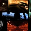 P.O.V. Montage of Tracking Shots of Various Car Body Angles - Stok fotoğraf