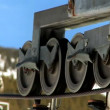 Ski Lift Machinery - Stock Photo