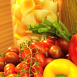 Fresh Healthy Ingredients - Stock Photo