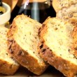Stock Video: Tasty Bread Appetizer