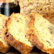 Healthy Bread & Oils - Stock Photo