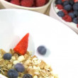 Healthy Lifestyle Breakfast — Stock Video