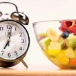 Make Time For Healthy Eating - Stock Photo