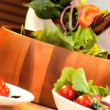 Tasty Tossed Salad - Stock Photo