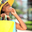 Fun Shopping Lifestyle - Foto Stock