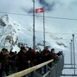 Stock Video: Summit at Jungfraujoch, Switzerland