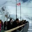 Stock Video: Jungfraujoch, Swiss Alps