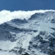 Stock Video: Snow on Eiger, Switzerland