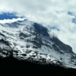 Stock Video: Time-lapse Clouds over Eiger, Switzerland
