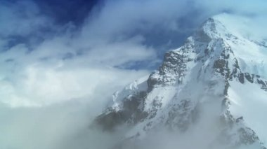 Time-lapse Clouds on Swiss Mountains — Stock Video