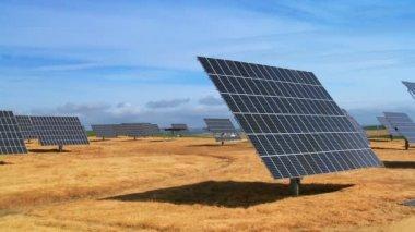Environmental Solar Energy Production — Stock Video