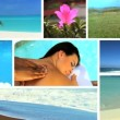 Montage of Luxury Female Spa Lifestyle - Stock Photo