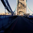 P.O.V. Tower Bridge London — Stock Video