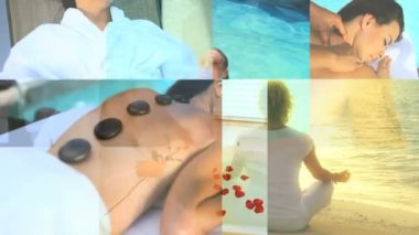 Montage of Luxury Female Spa Lifestyle — Stock Video