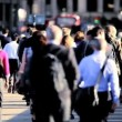Crowded City Streets — Stock Video