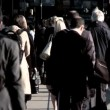 Crowded City Streets — Video Stock